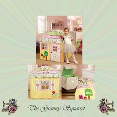 Charming Cottage Playhouse Pattern Princess by TheGrannySquared