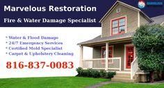Fire & Water Damage Restoration Specialist in #KansasCity   #WaterDamage #FireRestoration #WaterDamageSpecialist