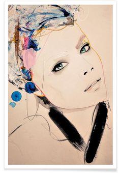 Abiding - Leigh Viner - Premium Poster