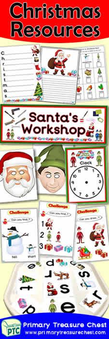 FREE Christmas Eve Jingle Printables - Worldwide Christmas Eve Jingle - Primary Treasure Chest Christmas Writing, Christmas Math, Christmas Themes, Classroom Banner, Display Banners, Christmas Challenge, Santas Workshop, Matching Cards, Printable Banner