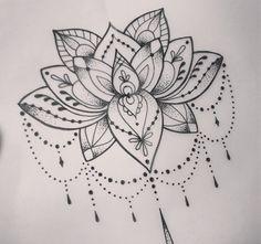 sternum tattoo mandala - Recherche Google