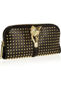 Burberry Prorsum|Studded leather clutch