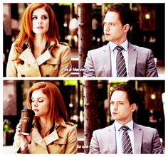 Everyone's a Harvey fan #Suits
