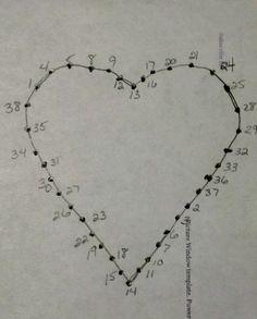 Resultado de imagen para heart string art patterns