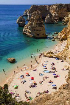 Praias mais bonitas da Europa - Praia da Marinha, no Algarve (Portugal)