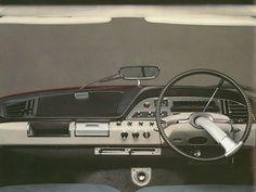 Citroen DS... Crazy Cool Steering Wheel