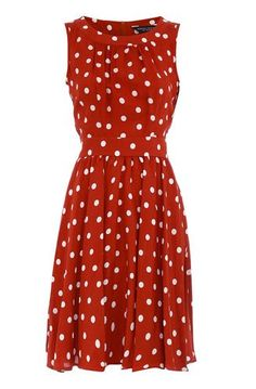 Rust spot sundress