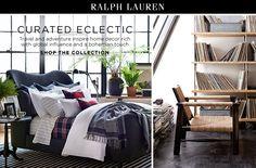Curated Eclectic Ralph Lauren Home - Bloomingdale's
