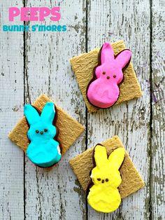 Easter PEEPS Bunnies S'mores Treats