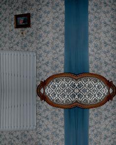 Architexture, Catherine Rouziès, fauteuil et rideau.motif à matière.