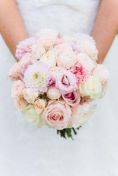 Brautstrauß Pfingstrosen rosa