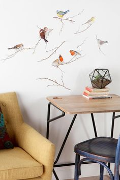 Birds Wall Decal  #UrbanOutfitters