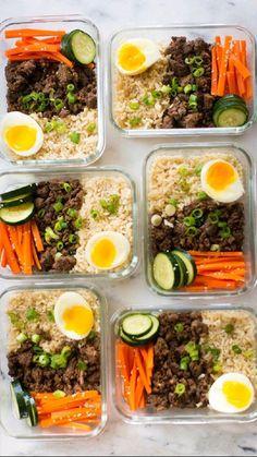 Easy Healthy Meal Prep, Easy Healthy Recipes, Easy Meals, Healthy Meal Options, Easy Lunch Meal Prep, Simple Meal Prep, Meal Prep Grocery List, Clean Eating Snacks, Healthy Eating