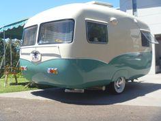 Painting the sunliner. | Vintage Caravans                                                                                                                                                                                 More