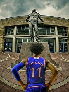 Milestones of College Basketball. Basketball is a favorite pastime of kids and adults alike. Kansas Jayhawks Basketball, Basketball Workouts, Chiefs Football, Basketball Funny, Basketball Tips, Football And Basketball, College Basketball, Basketball Players, Josh Jackson