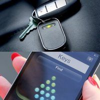 Clever! Find your keys that much faster with the Hone Key Finder - $60. I know a few folks who need this.