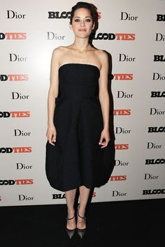 Blood Ties after-party - May 20 2013  Marion Cotillard was dressed in a Dior strapless dress to attend a party hosted by the fashion house to celebrate her new film.
