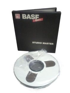 "BASF (EMTEC) SM900 ½"" x 3600', 10.5"" Custom Reel to Reel, High Output, Analogue Magnetic Audio Tape on 1mil backing, Studio Master Tape. SOLD IN MASTER CARTON containing [6] 10.5"" REELS. by BASF. $239.91. BASF (EMTEC) SM900 ½"" x 3600'', 10.5"" Custom Reel to Reel, High Output, Analogue Magnetic Audio Tape on 1mil backing, Studio Master Tape. High output mastering tape with 3 dB more MOL (output) than standard tape 2 dB lower bias noise than standard bias tape for wide..."