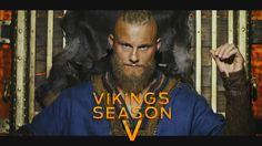 Vikings Season 5 - The Heart of Ragnar Vikings Season 5, Vikings Ragnar, Vikings Tv Show, Ragnar Lothbrok, Lagertha, Jonathan Rhys Meyers, Travis Fimmel, History Channel, Tv Shows