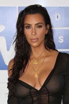Kim Kardashian attends 2016 MTV Video Music Awards