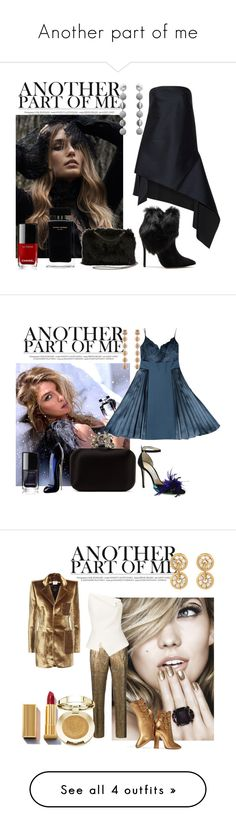 """""""Another part of me"""" by sofiacalo ❤ liked on Polyvore featuring STELLA McCARTNEY, Rebecca de Ravenel, Narciso Rodriguez, Chanel, Dion Lee, Schutz, Givenchy, Jimmy Choo, Carolina Herrera and Dries Van Noten"""