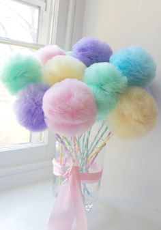 PRINCESS Princess Tulle Pom Pom Fairy Princess Drumsticks Feast of Favors Decora. PRINCESS Princess Tulle Pom Pom Fairy Princess Drumsticks Feast of Favors Decorations Choose your quantity: 10 12 15 Party Favors, Party Centerpieces, Centerpiece Decorations, Tulle Centerpiece, Room Decorations, Birthday Decorations, Pastell Party, Tulle Poms, Pom Poms