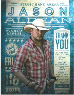 Pollstar Ad - March 2012 - Sold Out Jason Aldean Thank You