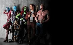 Guardians of the galaxy vol. 2, cast, leaning to wall, 4k, 8k wallpaper