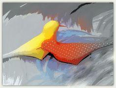 Material birds
