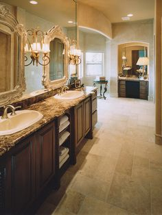 Traditional Bathroom French Country Design