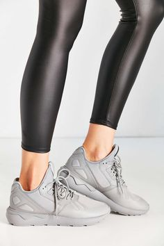 only in this mono grey in women sizes via UO. it's not  on the adidas website. adidas Originals Mono Tubular Sneaker