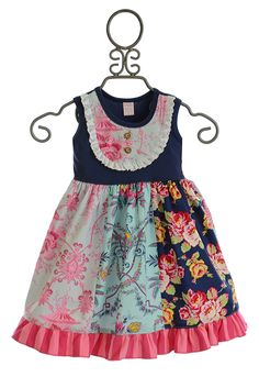 Giggle Moon Girls Pure in Heart Pixie Panel Dress (6 & 6X)