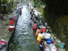 Ibu-ibu di Ambon mencuci massal di sungai yg sangat jernih (2010) Maluku Islands, Green Nature, Snorkeling, Singapore, Surfing, Tropical, River, Vacation, Country