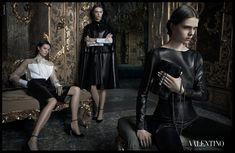 Valentino – ad campaign, fall/winter 2012/13 photographer Deborah Turbeville