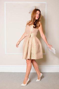 ♥ 20 vestidos ideais para casamento civil   Dúvida constante das noivas, os…