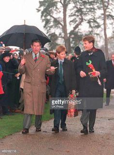 Prince Charles Prince Harry and Prince William- 1998