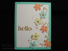 Garden Hello by lisacurcio2001 - Cards and Paper Crafts at Splitcoaststampers