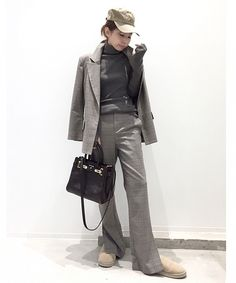 L'Appartement DEUXIEME CLASSE(アパルトモン ドゥーズィエム クラス)公式コーディネートスナップ、BUYER.YおすすめのKALLMEYER CHECK SLITPANTS《カルメイヤー チェックスリットパンツ》。着用アイテムはオンラインでご購入いただけます。全品送料無料、最短翌日お届け、通常3%ポイント還元。 Leather Jacket, Fashion Outfits, My Style, Jackets, Fashion Styles, Studded Leather Jacket, Down Jackets, Leather Jackets, Fashion Suits