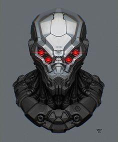Image result for futuristic sniper helmet