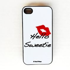 Doctor Who iPhone Case 4/4s: 'Hello Sweetie' by Nani?Wear, http://www.amazon.com/dp/B00BIVAQBI/ref=cm_sw_r_pi_dp_EB2yrb0G9FRDN
