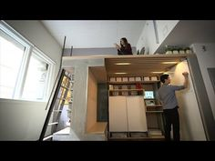 Ori is a system of moveable furniture for tiny apartments. It's designed by Silicon Valley's most famous designer, Yves Béhar.