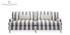 Andrew-sohvaKlassisessa howard-sohvassa on useita kokoja ja malleja.  Istuintyynyjen erikoisrakenteen ansiosta istuinmukavuus on omaa luokkaansa.L 193 x K 84 x S 104 cm.
