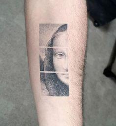 Fotos de Tatuagens Inspiradas na Arte Clássica | Fotos de Tatuagens