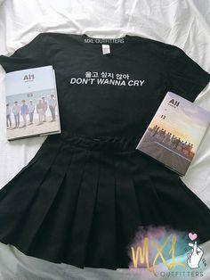 Don't Wanna Cry Seventeen Kpop T-Shirt By Maggie Liu