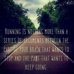 Sometimes its hard to keep going but once you do there is nothing stopping you!