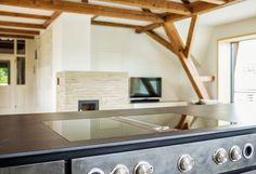 Küchenarbeitsplatte Keramik Dekton Sirius Solid Collection 12mm Und Bora  Kochfeld Dunstabzug Flächenbündig
