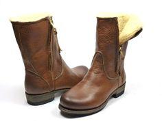 Blackstone EW74 boots bont - bruin
