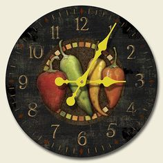 Chili Pepper Pendulum Clock By Fudo Http Www Amazon Com