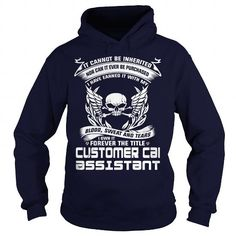 CUSTOMER CARE ASSISTANT-BLOOD T-Shirts, Hoodies (35.99$ ==► Order Here!)