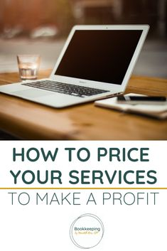 Learn the pricing strategy and pricing formula you need to start making a profit with your web design work or your coaching services. How To Use Quickbooks, Quickbooks Online, Bookkeeping Business, Bookkeeping Services, Business Tips, Online Business, Organizing Services, Online Tutorials, Business Management